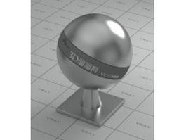 Bullet head metal vray material