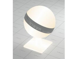 Lampshade lamp cover vray material