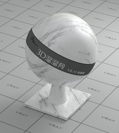 Kashmir Onyx white marble material rendering
