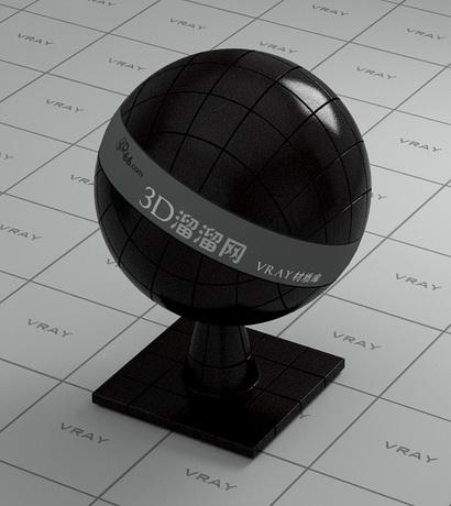 Black Ceramic Floor Tile Vray Material Cadnav Com