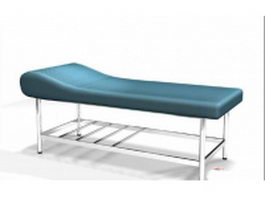 Commercial massage table 3d model