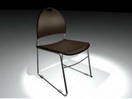 Modern bar chair 3d model