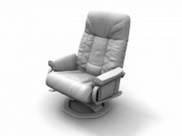 Adjustable boss chair 3d model