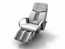 Massage armchair 3d model