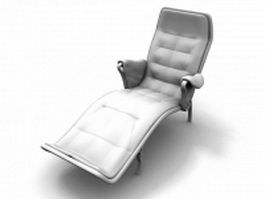 Reclining Lounge chair 3d model