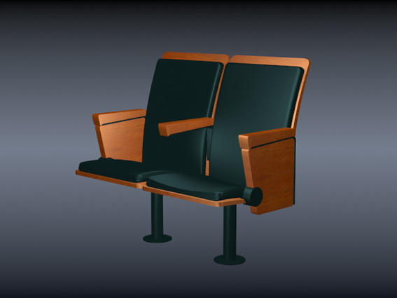 theater chair 3d model free download - cadnav com