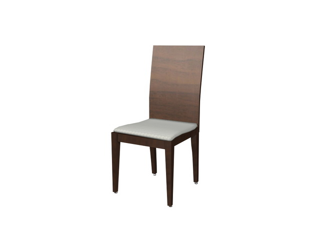 Wood dining chair 3d model 3dsMax files free download  : 1 14040GK227 from www.cadnav.com size 640 x 480 jpeg 15kB