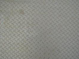 Embossed pattern steel plate texture