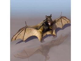 Little brown bat 3d model