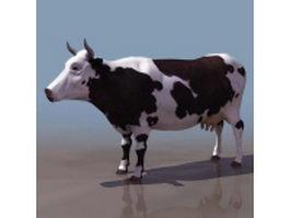 Dairy cattle 3d model