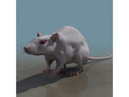 Laboratory mouse 3d model