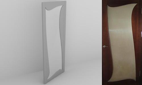 3ds max glass door