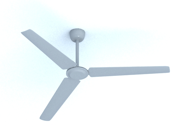 Industrial ceiling fan 3d model 3dsMax files free download