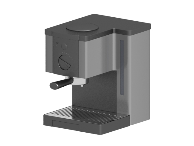 electric coffee maker 3d model 3dsmax files free download modeling