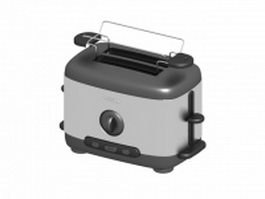 Electric hot dog toaster 3d model