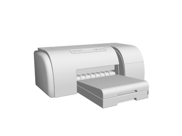 Hp Small Office Printer 3d Model 3dsmax Files Free