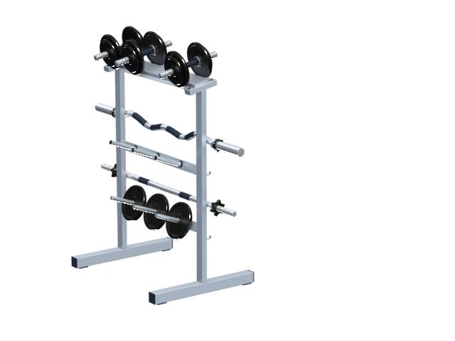 Gym barbell bar u0026 weight plate rack 3D Model  sc 1 st  CadNav & Gym barbell bar u0026 weight plate rack 3d model 3dsMax files free ...