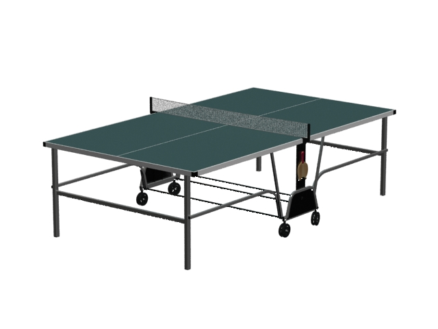 Folding Table Tennis Donnay Indoor