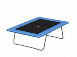 Gymnastic trampoline 3d model