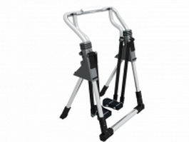 Twister exercise stepper 3d model