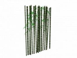 Bamboo trunk 3d model