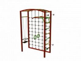 Gymnastics ladder 3d model