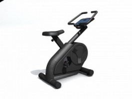 Magnetron exercise bicycle 3d model