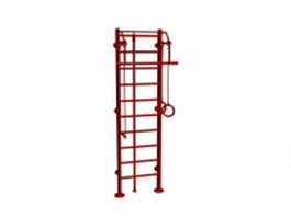 Swedish ladder 3d model