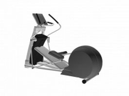 Elliptical cross trainer 3d model