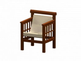 Chair by Robert Mallet-Stevens 3d model