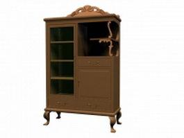Classical cupboard 3d model