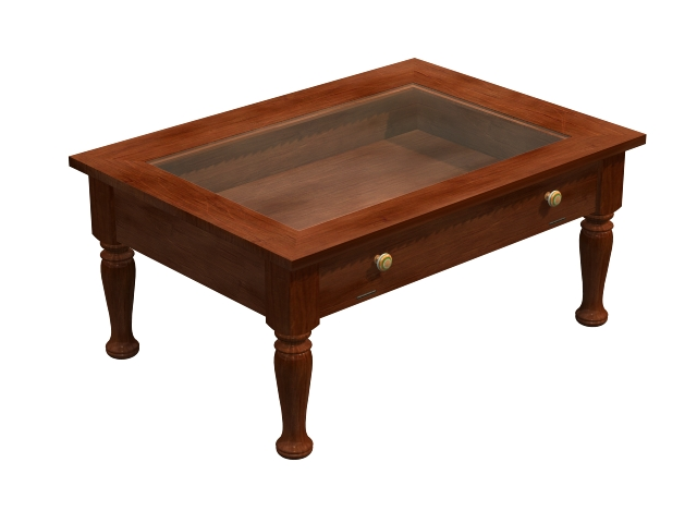 Display Coffee Table 3d Model 3dsmax Files Free Download Modeling 15384 On Cadnav