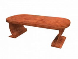 Shaker hill table 3d model