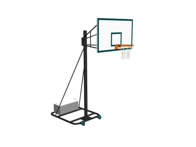 Basketball Shelf 3d Model 3ds Files Free Download