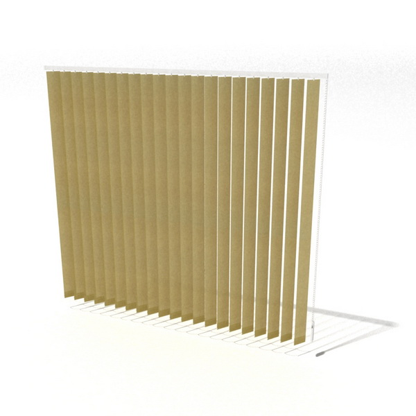 Plastic Vertical Blinds 3d Model 3dsmax 3ds Files Free