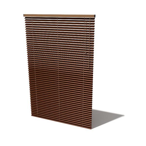 Wood Window Blind 3d Model Cadnav