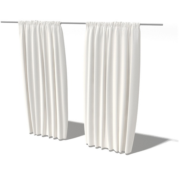 White Backdrop Curtain 3d Model 3dsmax 3ds Files Free