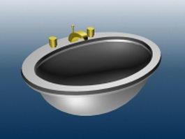 Bowl sinker 3d model