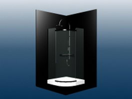 Enclosed shower 3d model