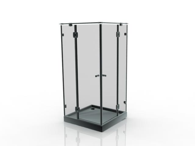 Corner Shower Enclosure 3d Model 3dsmax Files Free