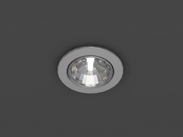 Cob Led Downlight 3d Model 3dsmax Wavefront 3ds Files Free