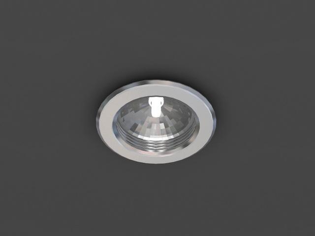 Downlight 3d model free download - cadnav com