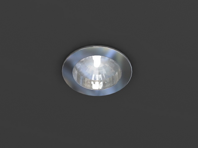 Recessed Downlight 3d Model 3dsmax Wavefront 3ds Files