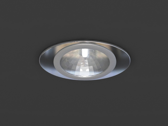 Dimmable Led Downlight 3d Model 3dsmax Wavefront 3ds Files