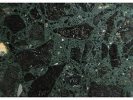 Green fossil marble texture