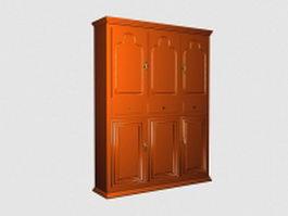 Armoire closet 3d model