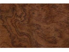 Bubinga pommel wood grain texture
