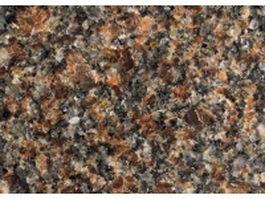 Closeup of Santa Fe brown granite slab texture