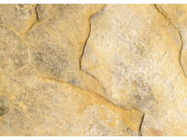 Rough surface of yellow slate stone texture