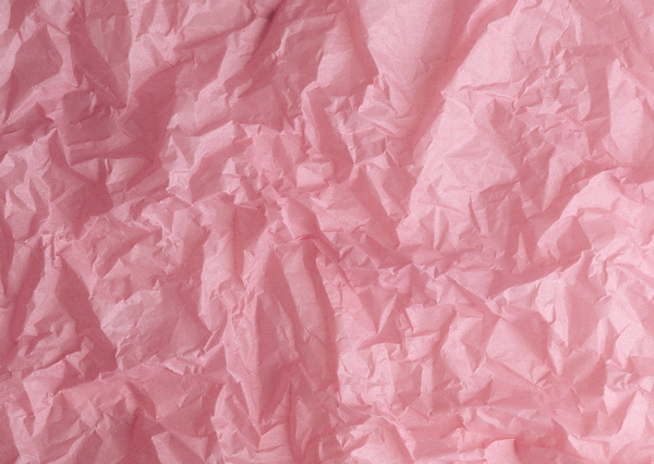 Pink sheet of crumpled paper texture - Image 16247 on CadNav